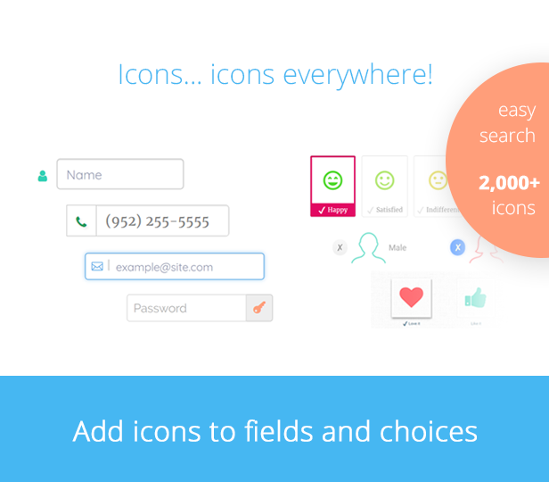 Gravity Forms icons